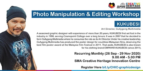 Photo Manipulation & Editing Workshop tickets