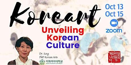 Unveiling Korean Culture: A Visual Arts Webinar tickets