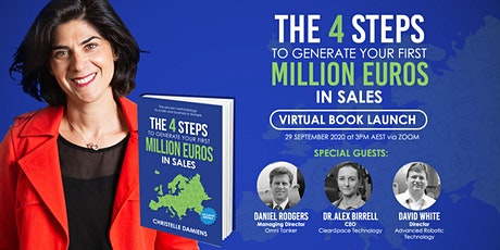 Virtual Book Launch:4 Steps to Generate your First Million Euros in Sales tickets