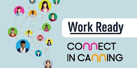 Work Ready Digital Skills Workshop - Linked In & video conferencing tickets