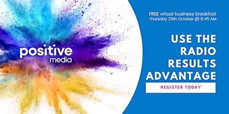 PositiveMedia's Virtual Business Breakfast - 29th October tickets