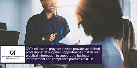 GERALDTON Event - Designing RTO Training & Assessment Strategies tickets