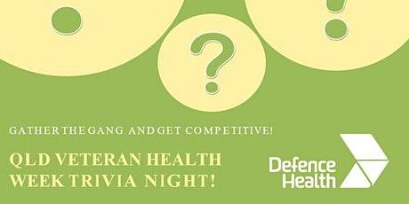 Qld Veteran Health Week Trivia tickets