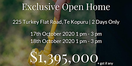 Exclusive Open Home | 2 Days Only tickets