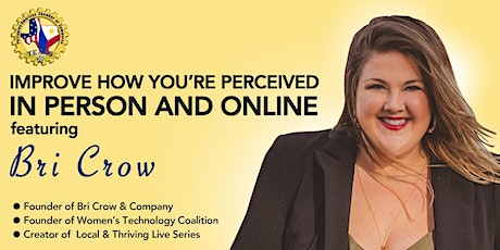 Image Matters: Improve how you're perceived in person and online. tickets