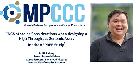 MPCCC Tech Talk: Dr Nick Wong tickets