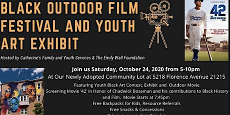 Black Film Festival and Youth Art Exhibit tickets