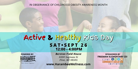 Active and Healthy Kids Day tickets