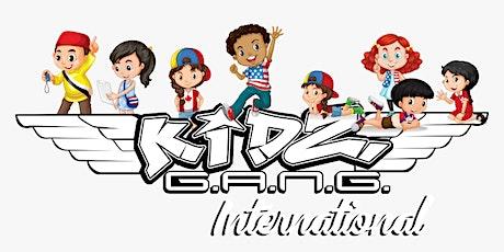 Kidz G.A.N.G. 9 a.m. 9-10  Yrs tickets