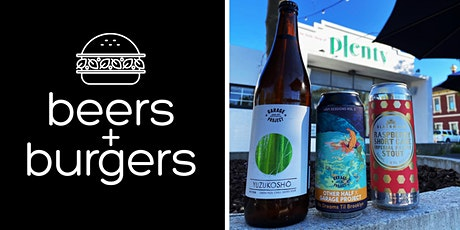 Beers & Burgers @ Plenty #4 tickets