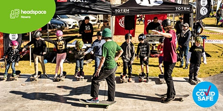 headspace Day Sanctuary Point Skatepark - Skate Workshop tickets
