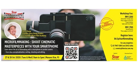 Microfilmmaking with Your Smart Phone and Pocket Cameras tickets