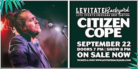 Citizen Cope @ Levitate Backyard - 9.22.2020 tickets