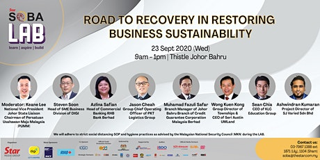 Road to Recovery in Restoring Business Sustainability tickets