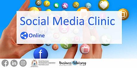 Business Advisory Social Media Clinic October-November tickets