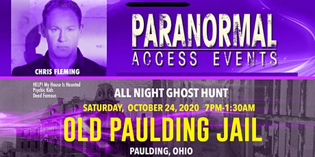 Paranormal Access with Chris Fleming at the Old Paulding Jail tickets