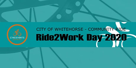 City of Whitehorse Ride2Work Day 2020 Community Ride tickets
