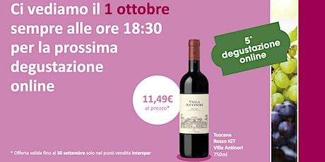 DeVino - Degustazione on line - lezione  5 biglietti