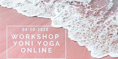Yoni Yoga Workshop - Online deelname tickets