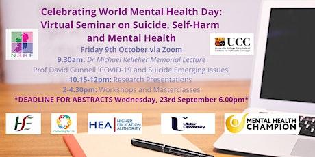 Virtual Seminar on Suicide, Self-Harm and Mental Health 2020 tickets