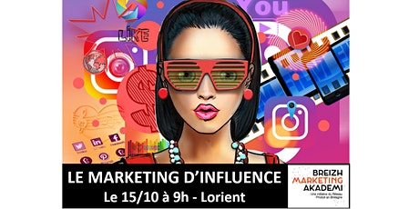 Le MARKETING D'INFLUENCE, thème de la rencontre régionale Breizh Marketing tickets