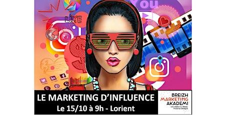 Le MARKETING D'INFLUENCE, thème de la rencontre régionale Breizh Marketing billets