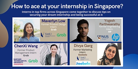 How to ace at your internship in Singapore? biglietti