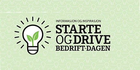Starte og drive bedrift-dagen - webinar tickets