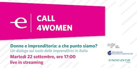 Donne e imprenditoria: a che punto siamo? biglietti