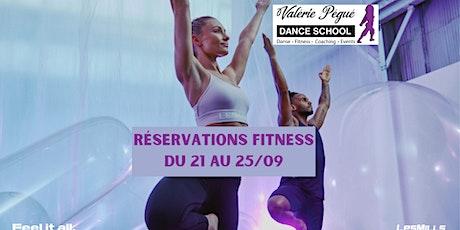 Réservation  Fitness Semaine du 21 au 25/09 billets