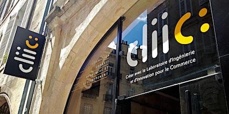 Inauguration de cliic : le démonstrateur pour le commerce de demain billets
