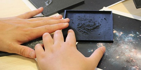 The Tactile Universe: Accessible astrophysics tickets
