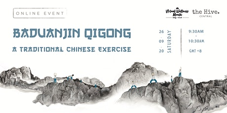 Online: Baduanjin Qigong - A Traditional Chinese Exercise tickets