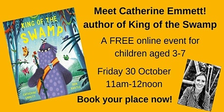 King of the Swamp- Meet the Author! tickets