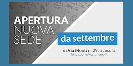 Presentazione Nuova sede di ITS Academy Turismo Veneto biglietti