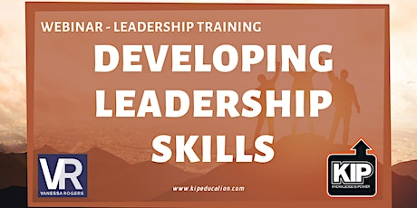 Webinar: Developing Leadership Skills tickets