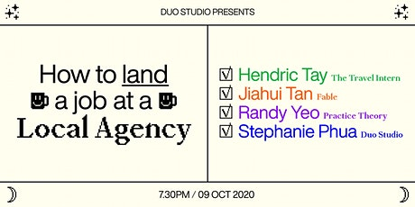 How to Land a Job at a Local Agency tickets