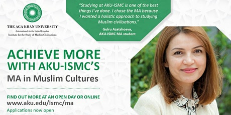 AKU-ISMC Virtual Open Day tickets