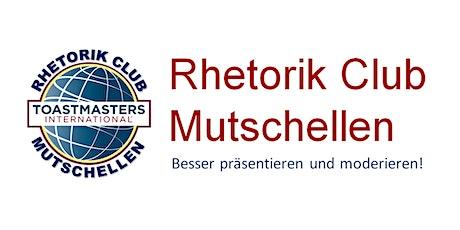Rhetorik Club Mutschellen: Tag der offenen Tür