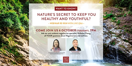 How to Stay Young and Beautiful the Natural Way - Re-run + Live Q&A tickets