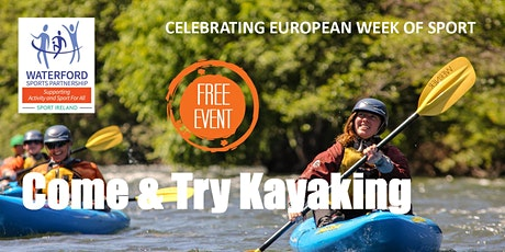 Come and Try Kayaking for Adults in West Waterford tickets