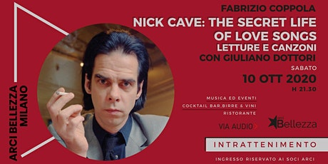 Nick Cave: The Secret Life of Love Songs biglietti