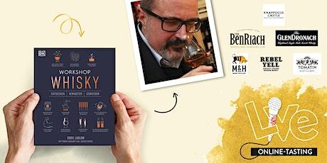 EXKLUSIVES KUNDENKARTEN EVENT: Online Whisky Tasting mit Jürgen Deibel Tickets