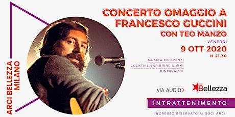 Concerto Omaggio a Francesco Guccini biglietti