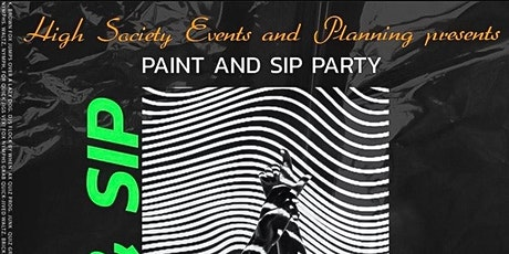 Paint & Sip on Canvas and Splatter Paint tickets