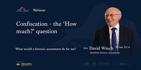 Confiscation - the 'How much?' question tickets