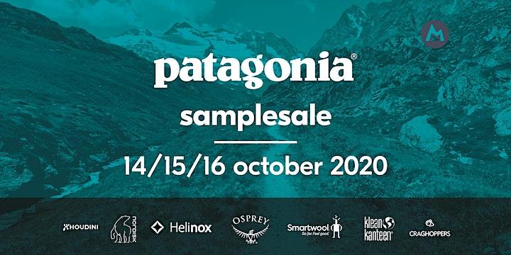 Afbeelding van Patagonia® sample sale (14—16 oktober 2020) // (14—16 octobre 2020)