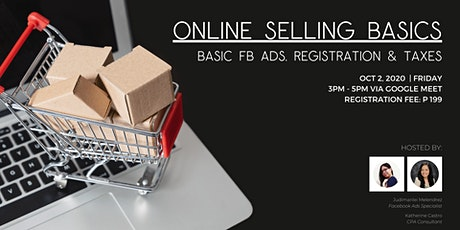 Online Selling Basics (Basic FB Ads, Registration & Taxes) tickets