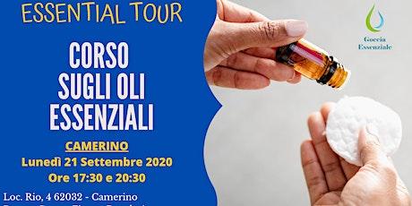 CAMERINO - Corso introduttivo sugli Oli Essenziali biglietti
