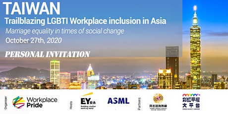 Taiwan: Trailblazing LGBTI Workplace Inclusion in Asia tickets